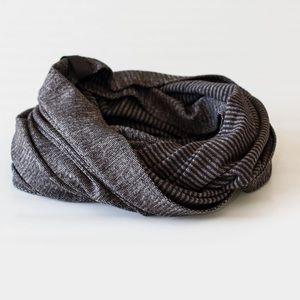 Lululemon Vinyasa Scarf Mini Check/Black Pique